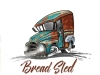 Bread truck 1955- Vertical