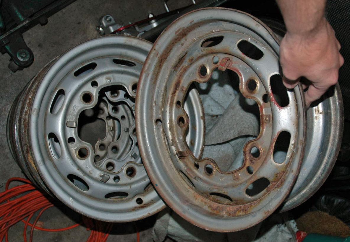 Porsche 356 Wheel Restoration Part I Technical